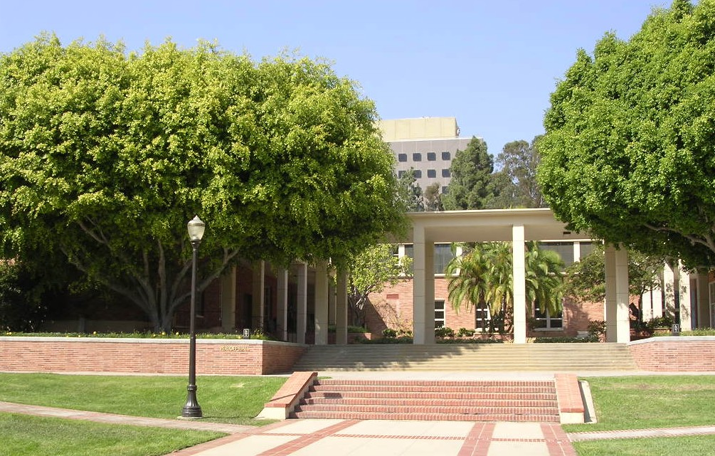 Ucla Campus Map Perloff Hall Harvey S Perloff Hall