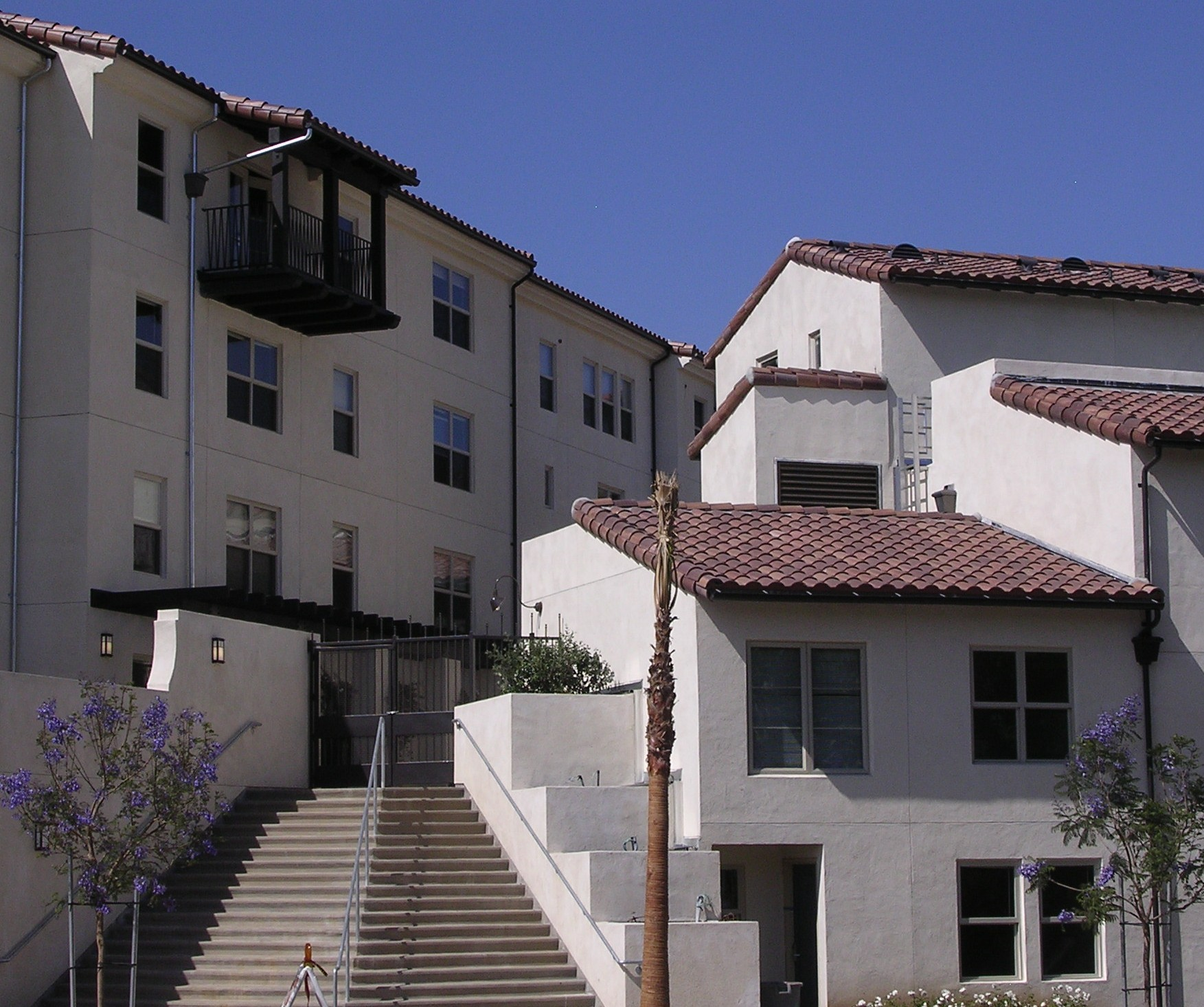 UCLA Campus Map: Sycamore Court Apartments; Sycamore Court