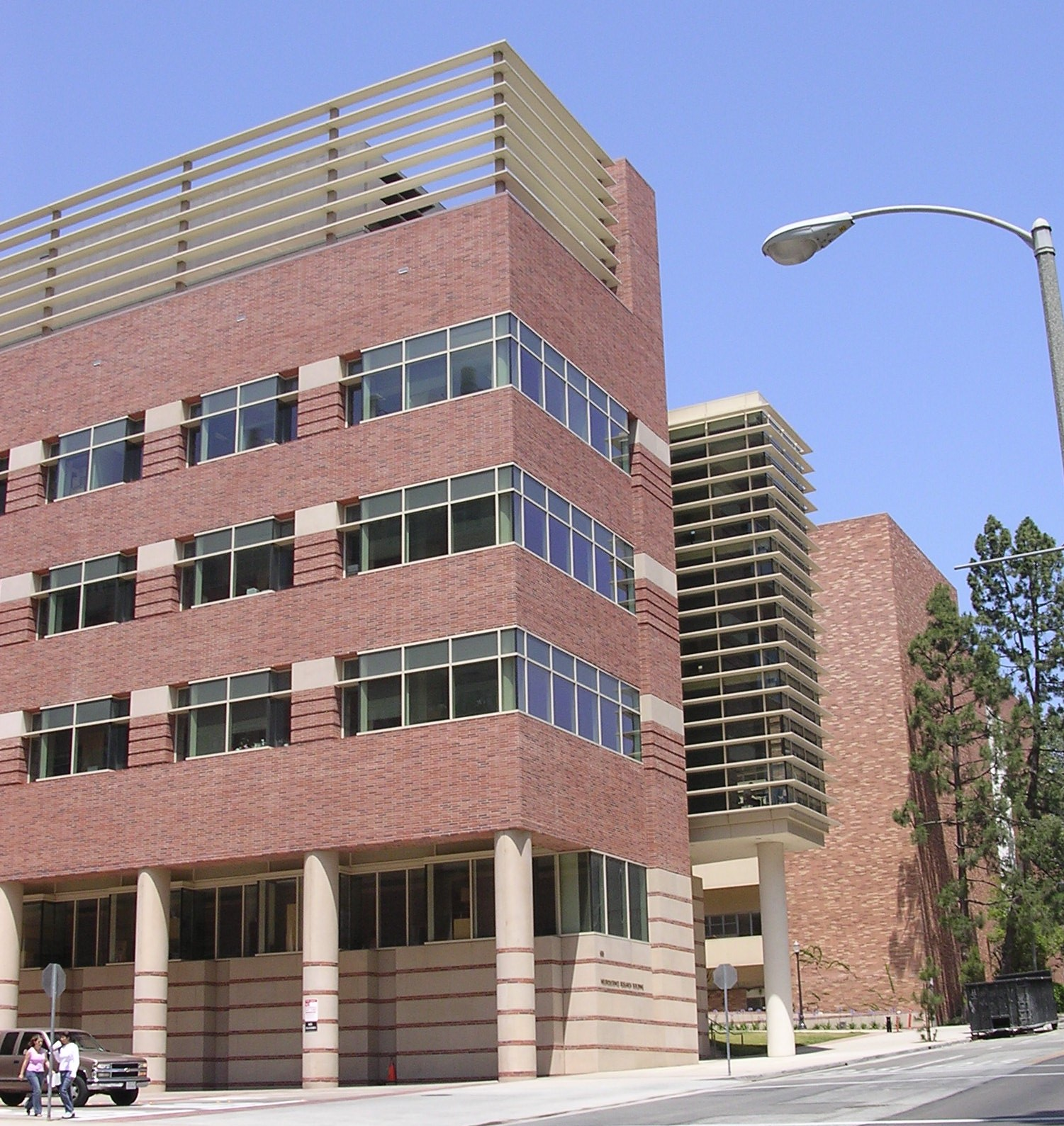 UCLA Campus Map: Neuroscience Research