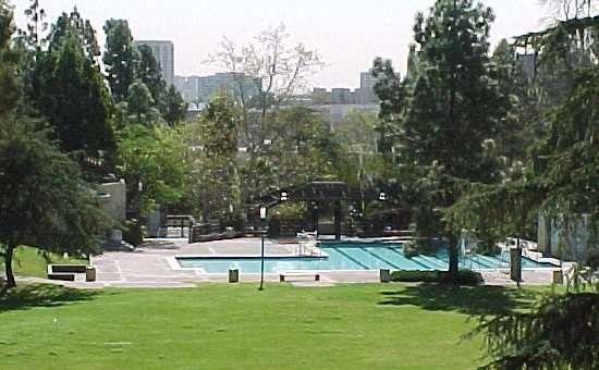 Ucla campus map park pool park pool sunset canyon for Swimming pool supplies los angeles