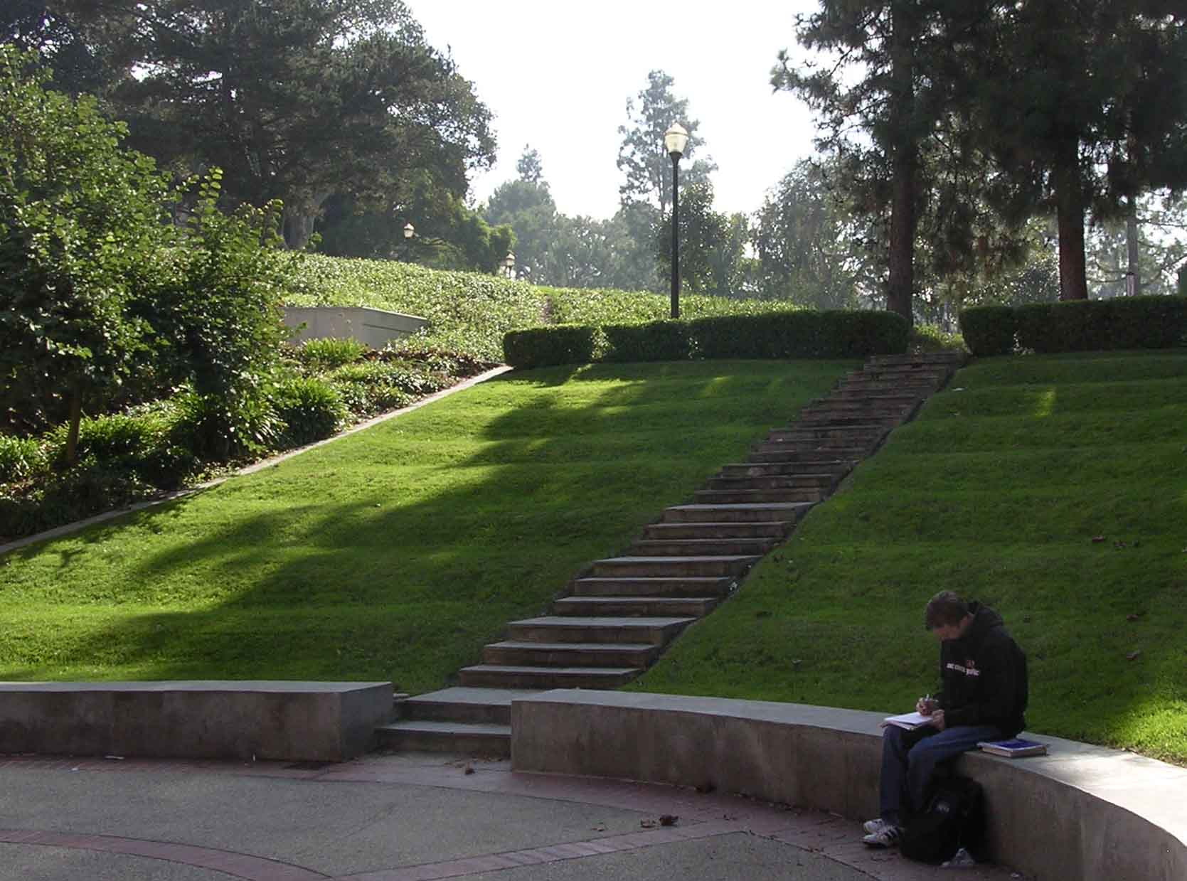 UCLA Campus Map: Fowler Amphitheater